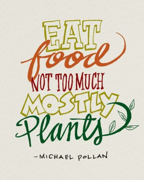 eat plants quote